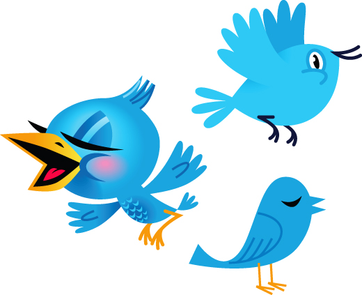 Twitter Blog Birds, social networking, twitter